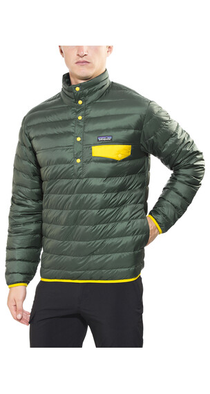 Patagonia Down Snap-T Pullover Men Carbon